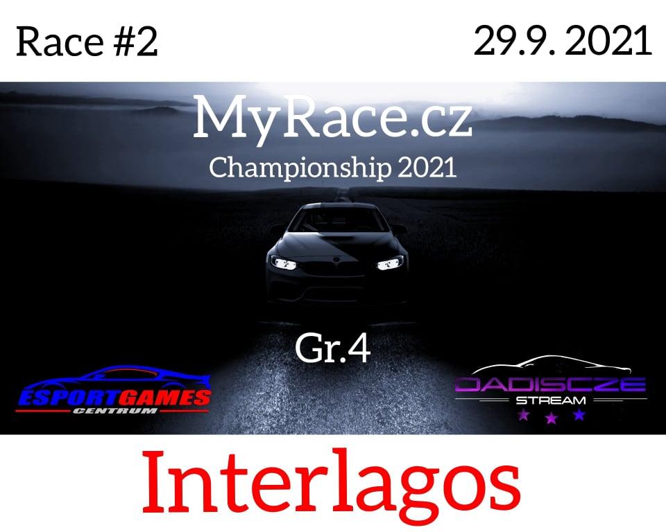2. Závod - MyRace.cz Championship 2021 - Atódromo de Interlagos