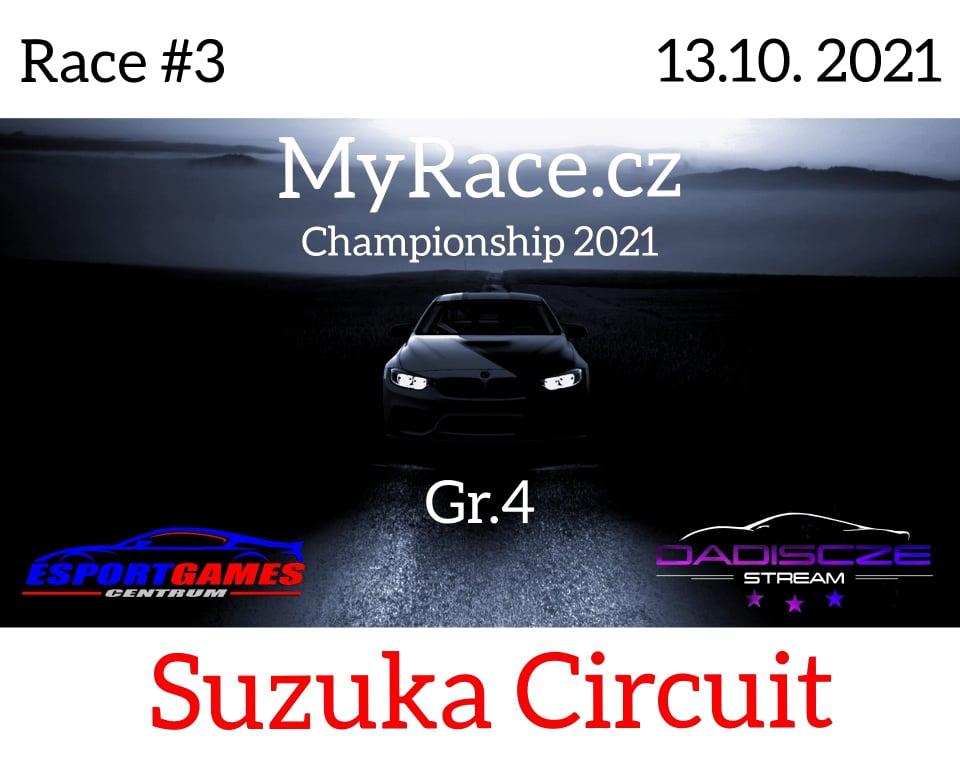 3. Závod - MyRace.cz Championship 2021 - Suzuka Circuit